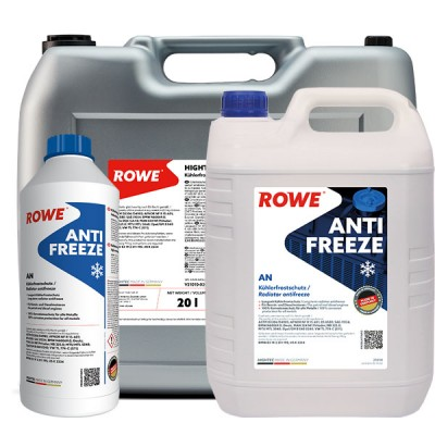 Антифриз (концентрат, сине-зеленый) ROWE Hightec Antifreeze AN G11