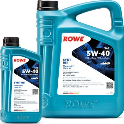 Моторное масло ROWE Hightec Synt RSi 5W-40
