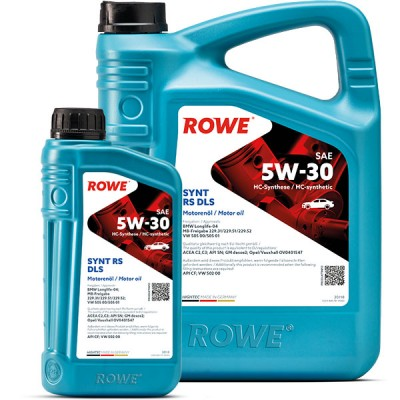 Моторное масло ROWE Hightec Synt RS DLS 5W-30
