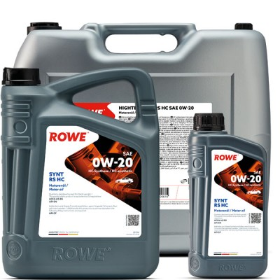 Моторное масло ROWE Hightec Synt RS HC 0W-20