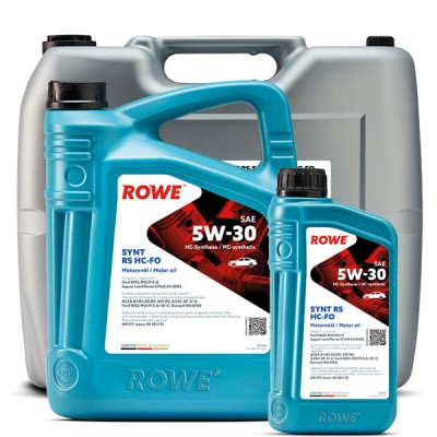 Моторное масло ROWE Hightec Synt RS 5W-30 HC-FO