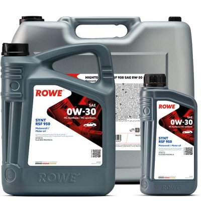 Моторное масло ROWE Hightec Synt RSF 950 0W-30