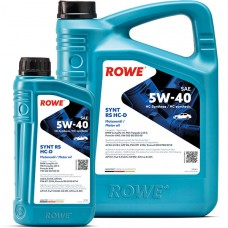 Моторное масло ROWE Hightec Synt RS HC-D 5W-40