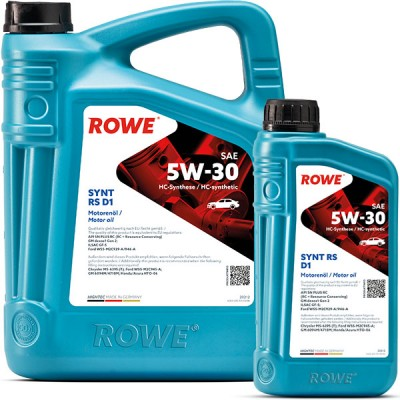 Моторное масло ROWE Hightec Synt RS D1 5W-30
