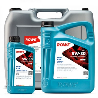 Моторное масло ROWE Hightec Synt Asia 5W-30