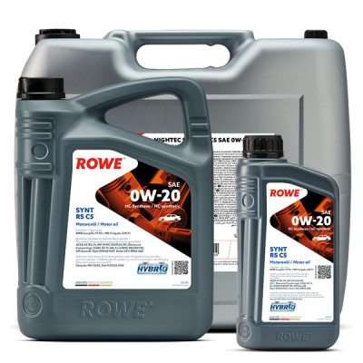Моторное масло ROWE Hightec Synt  RS C5 0W-20