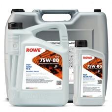 Трансмиссионное масло ROWE Hightec Topgear FE 75W-80 S